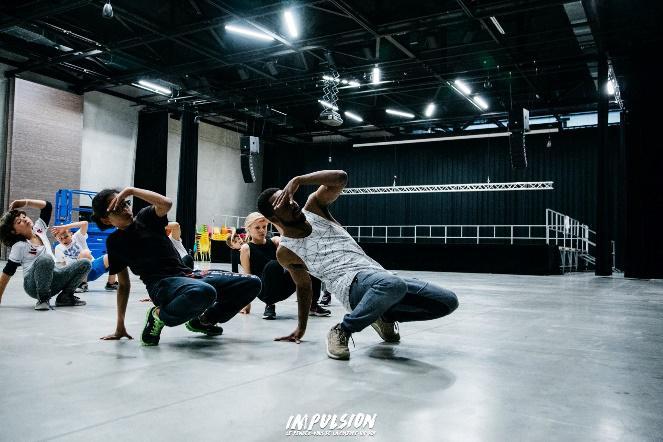 Stage technique de danse hip hop vacances été 2019